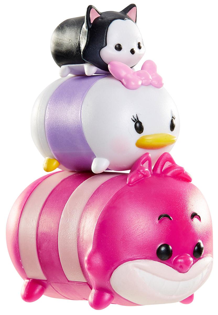 Tsum Tsum Набор фигурок Фигаро Дейзи Чеширский кот980080_119/117/142Tsum Tsum - это небольшие коллекционные фигурки, изображающие различных персонажей детских мультфильмов Дисней. Они очень яркие, качественно сделаны и выглядят весьма привлекательно. В набор входят 3 фигурки разных размеров. Отличительной особенностью игрушек является то, что их можно сцеплять друг с другом, усаживая на спины - таким образом, у вас получится подобие оригинальной башенки. Соберите целую коллекцию фигурок! В наборе фигурки под номерами 119, 117, 142.