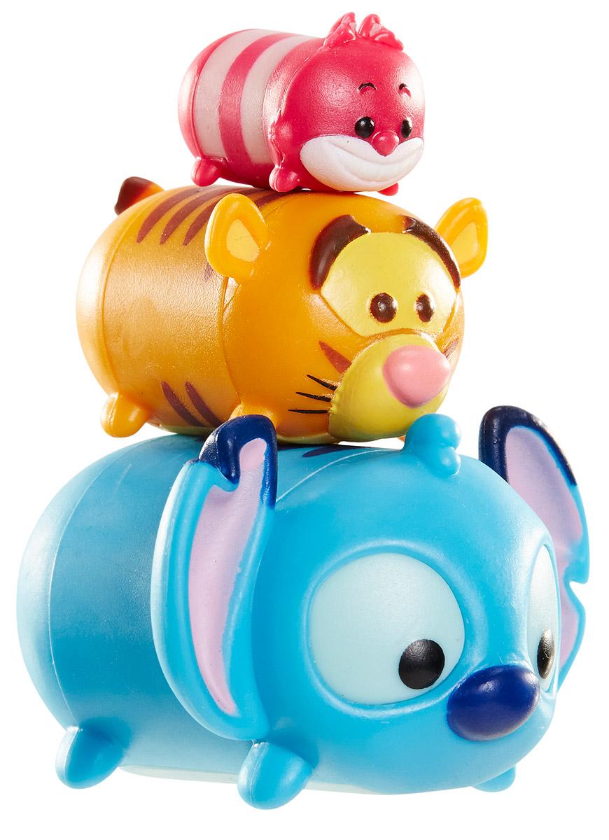 Tsum Tsum Набор фигурок Чеширский Кот Тигруля Стич980080_140/150/166Tsum Tsum - это небольшие коллекционные фигурки, изображающие различных персонажей детских мультфильмов Дисней. Они очень яркие, качественно сделаны и выглядят весьма привлекательно. В набор входят 3 фигурки разных размеров. Отличительной особенностью игрушек является то, что их можно сцеплять друг с другом, усаживая на спины - таким образом, у вас получится подобие оригинальной башенки. Соберите целую коллекцию фигурок! В наборе фигурки под номерами 140, 150, 166.