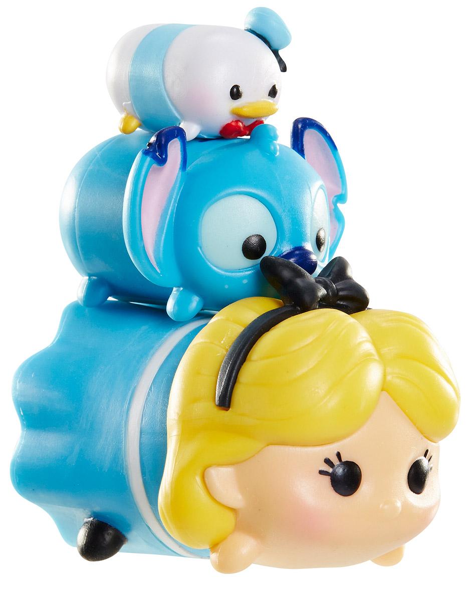Tsum Tsum Набор фигурок Дональд Дак Стич Алиса980080_113/165/136Tsum Tsum - это небольшие коллекционные фигурки, изображающие различных персонажей детских мультфильмов Дисней. Они очень яркие, качественно сделаны и выглядят весьма привлекательно. В набор входят 3 фигурки разных размеров. Отличительной особенностью игрушек является то, что их можно сцеплять друг с другом, усаживая на спины - таким образом, у вас получится подобие оригинальной башенки. Соберите целую коллекцию фигурок! В наборе фигурки под номерами 113, 165, 136.
