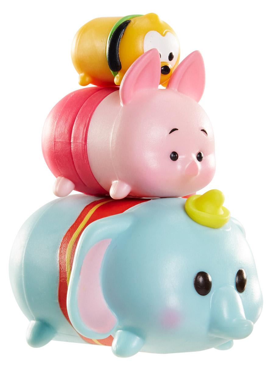 Tsum Tsum Набор фигурок Плуто Пятачок Дамбо980080_110/153/124Tsum Tsum - это небольшие коллекционные фигурки, изображающие различных персонажей детских мультфильмов Дисней. Они очень яркие, качественно сделаны и выглядят весьма привлекательно. В набор входят 3 фигурки разных размеров. Отличительной особенностью игрушек является то, что их можно сцеплять друг с другом, усаживая на спины - таким образом, у вас получится подобие оригинальной башенки. Соберите целую коллекцию фигурок! В наборе фигурки под номерами 110, 153, 124.