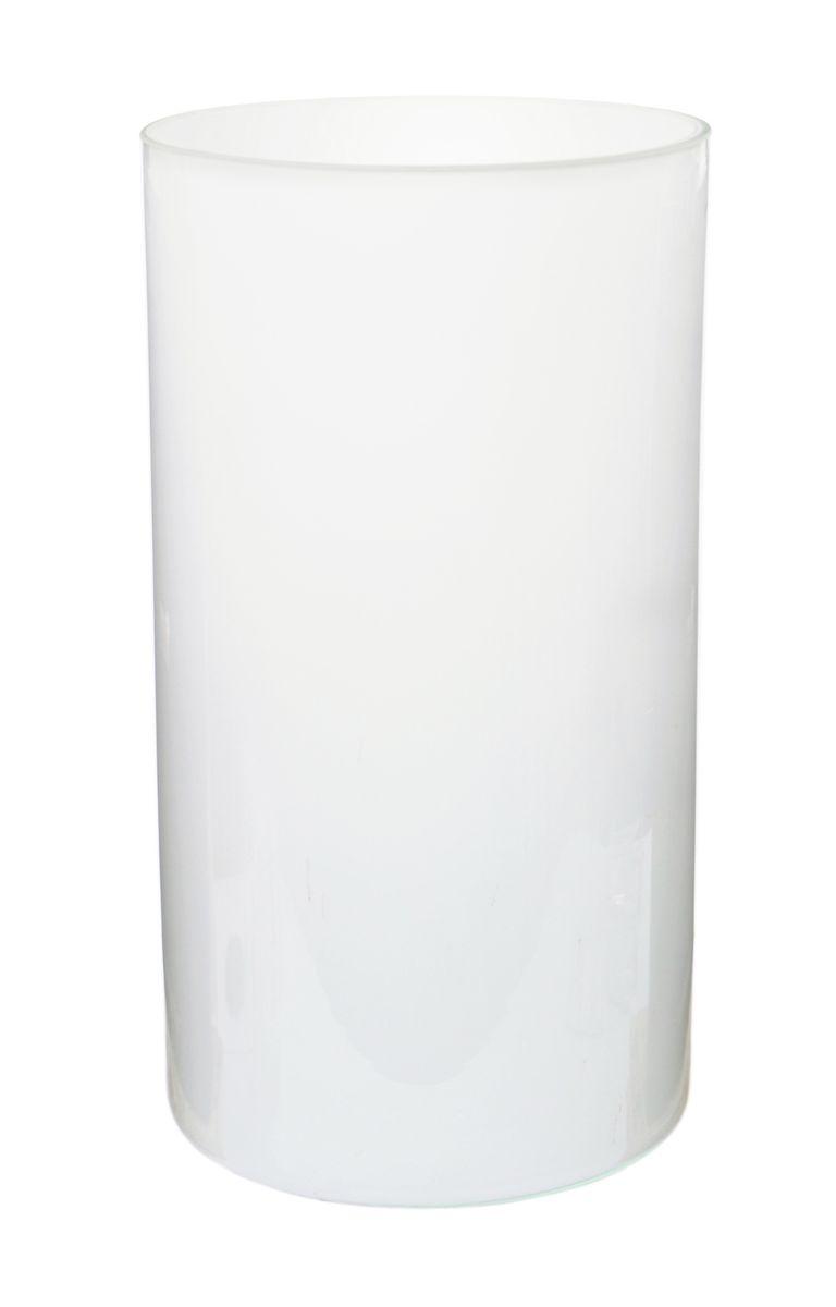 Ваза Nina Glass Ника, цвет: белый, высота 30 смNG90-039-30OВаза Nina Glass Ника выполнена из высококачественного стекла и имеет изысканный внешний вид. Такая ваза станет отличным украшением интерьера и прекрасным подарком к любому случаю. Не рекомендуется мыть в посудомоечной машине. Высота вазы: 30 см.