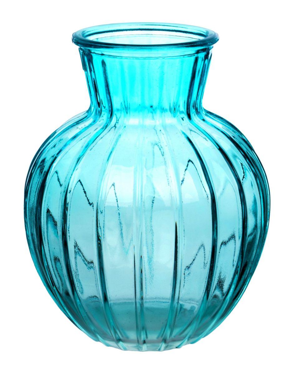 Ваза Nina Glass Белла, цвет: лазурный, высота 19,5 смNG92-001M_лазурныйВаза Nina Glass Белла выполнена из высококачественного стекла и имеет изысканный внешний вид. Такая ваза станет ярким украшением интерьера и прекрасным подарком к любому случаю. Не рекомендуется мыть в посудомоечной машине. Высота вазы: 19,5 см.
