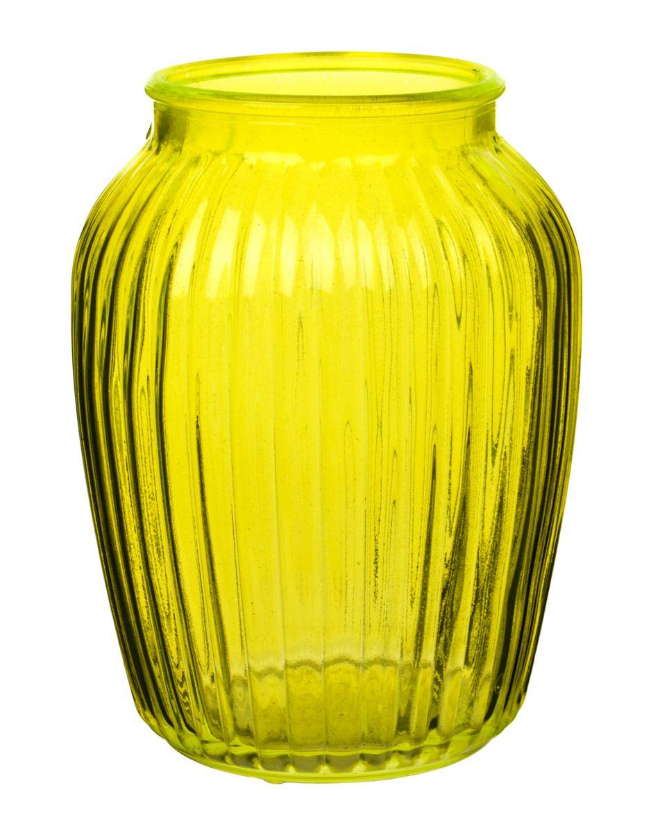 Ваза Nina Glass Луана, цвет: желтый, высота 19,5 смNG92-021M_желтыйВаза Nina Glass Луана выполнена из высококачественного стекла и имеет изысканный внешний вид. Такая ваза станет ярким украшением интерьера и прекрасным подарком к любому случаю. Не рекомендуется мыть в посудомоечной машине. Высота вазы: 19,5 см.