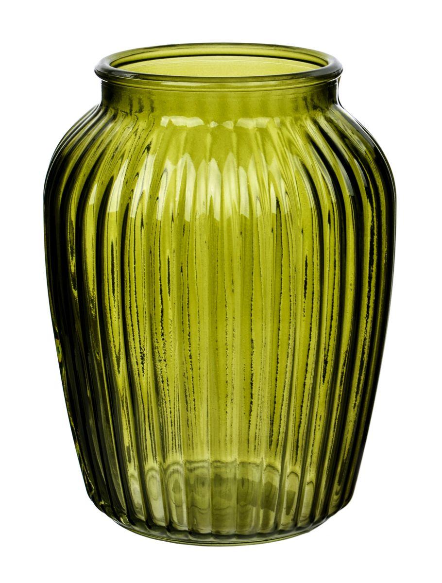 Ваза Nina Glass Луана, цвет: зеленый, высота 19,5 смNG92-021M_зеленыйВаза Nina Glass Луана выполнена из высококачественного стекла и имеет изысканный внешний вид. Такая ваза станет ярким украшением интерьера и прекрасным подарком к любому случаю. Не рекомендуется мыть в посудомоечной машине. Высота вазы: 19,5 см.