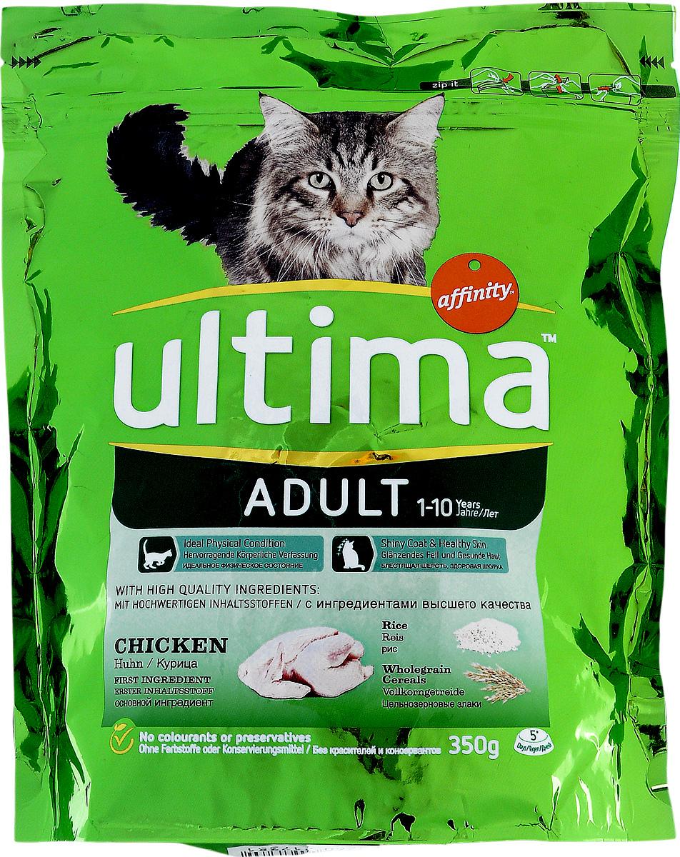 Корм сухой Ultima для стерилизованных кошек, с курицей и рисом, 350 г1850009Сухой корм Ultima специально разработан для стерилизованных кошек. Корм служит эффективным источником питательных веществ, с каждой порцией способствуя поддержанию физической формы животных на оптимальном уровне. Преимущества: - контроль за весом, - идеальное физическое состояние, - здоровье мочевыводящих путей, - блестящая шерсть, здоровая шкура. Состав: мясо курицы (15%), рис (14%), обезвоженные белки из мяса домашней птицы, кукурузная клейковина, кукуруза (10%), обезвоженные белки из свинины, цельнозерновой ячмень (7%), гидролизованные белки животного происхождения, волокна растительного происхождения, свекловичный жом, животный жир, соль, рыбий жир, хлорид калия. Питательные добавки: витамин A 32000 МЕ; витамин D3 2130 МЕ; витамин E 460 мг; витамин C (аскорбилмонофосфат кальция и натрия) 350 мг; таурин 1100 мг; л- карнитин 500 мг; витамин B6 (пиридоксина гидрохлорид) 13,3 мг; сульфата железа моногидрат 356 мг (Fe: 117...