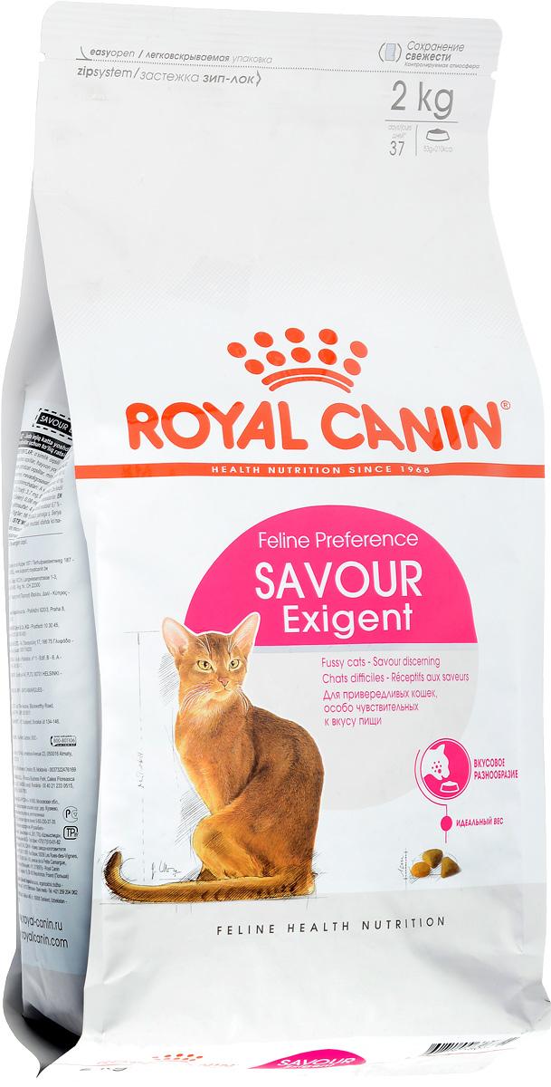 Корм сухой Royal Canin Exigent 35/30 Savoir Sensation для кошек, привередливых к вкусу продукта, 2 кг60596Royal Canin Exigent 35/30 Savoir Sensation - это полнорационный сухой корм для кошек в возрасте старше 1 года, привередливых к вкусу продукта. Узнайте пищевые предпочтения вашей кошки! Наличие индивидуальных пищевых предпочтений означает, что каждая кошка по-своему интерпретирует аромат, текстуру, вкус корма и ощущения после его потребления. Каждый корм семейства Exigent, помимо вкусовых качеств, обладает также рядом других оригинальных, специфических свойств. Чувствительность к вкусу продукта. Exigent 35/30 Savoir Sensation - это корм для с двумя типами крокет, различных по форме, текстуре и составу, обладающих взаимодополняющими свойствами. Поддержание идеального веса. Особая рецептура корма обладает умеренной калорийностью, что помогает поддерживать идеальный вес кошки. Забота о красоте шерсти. Комплекс входящих в состав корма активных питательных веществ, включающий биотин и масло огуречника аптечного, способствует красоте шерсти кошки. ...