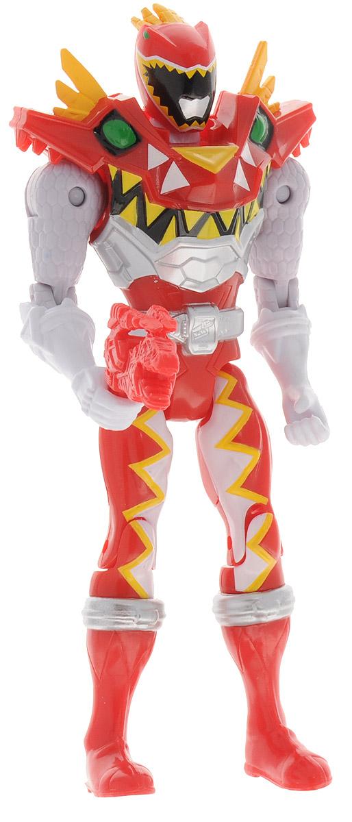 Power Rangers Фигурка T-Rex Super Charge Red Ranger43200_43230_красныйИгрушка Power Rangers T-Rex Super Charge Red Ranger, выполненная из пластика в виде рейнджера в дино-костюме, станет любимой игрушкой вашего ребенка. Руки, ноги и голова фигурки подвижны. В комплект входит оружие рейнджера - знаменитый бластер. Игрушка выполнена по мотивам приключенческого фильма Power Rangers. Могучие рейнджеры - это новое поколение героев, которые унаследовали силу древних воинов и должны встать на защиту Земли. Эта игрушка обязательно понравится ребенку, он часами будет играть с ней, придумывая захватывающие истории для героев.