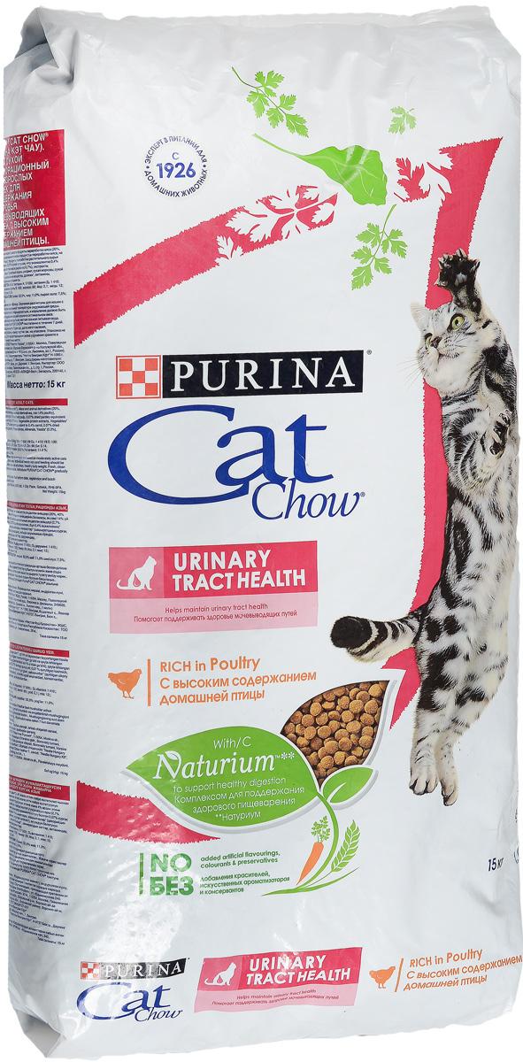 Корм сухой для кошек Cat Chow Special Care, для профилактики мочекаменной болезни, 15 кг12147059Корм сухой Cat Chow Special Care - полнорационный корм для взрослых кошек, для здоровья мочевыводящих путей. Сама природа вдохновляет компанию PURINA на разработку кормов, которые максимально отвечают потребностям ваших питомцев, с учетом их природных инстинктов. Имея более чем 80-ти летний опыт в области питания животных, PURINA создала новый корм Cat Chow - полностью сбалансированный корм, который не только доставит удовольствие вашей кошке, но и будет полезным для ее здоровья. Особенности корма Cat Chow Special Care: Высокое содержание мяса, с источниками высококачественного белка в каждой порции для поддержания оптимальной массы тела. Особое сочетание натуральных ингредиентов: тщательно отобранные травы и овощи (петрушка, шпинат, морковь, горох). Отборные ингредиенты придают особый аромат. Высокое содержание витамина Е для поддержания естественной защиты организма питомца. Содержит мякоть свеклы и цикорий для...