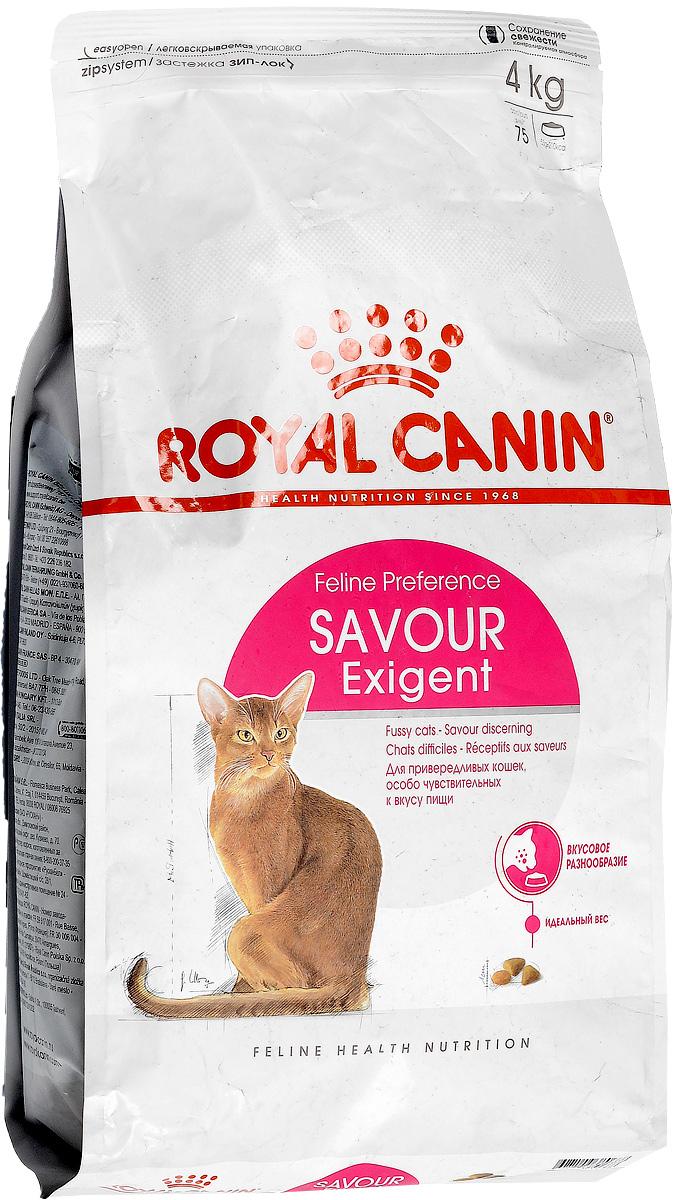 Корм сухой Royal Canin Exigent 35/30 Savoir Sensation, для кошек, привередливых к вкусу продукта, 4 кг60597Сухой корм Royal Canin Exigent 35/30 Savoir Sensation является полнорационным сбалансированным кормом для очень привередливых к вкусу продукта взрослых кошек в возрасте старше 1 года. Наличие индивидуальных пищевых предпочтений означает, что каждая кошка по-своему интерпретирует аромат, текстуру, вкус корма и ощущения после его потребления. Корм, помимо вкусовых качеств, обладает также рядом других оригинальных, специфических свойств. Особенности корма Royal Canin Exigent. Savor Sensation: - корм содержит два типа крокетов, различных по форме, текстуре и составу, обладающих взаимодополняющими свойствами; - особая рецептура корма обладает умеренной калорийностью, что помогает поддерживать идеальный вес кошки; - комплекс входящих в состав корма активных питательных веществ, включающий биотин и масло огуречника аптечного, способствует красоте шерсти кошки. Royal Canin - лидер на рынке производства рационов для собак и кошек, ...