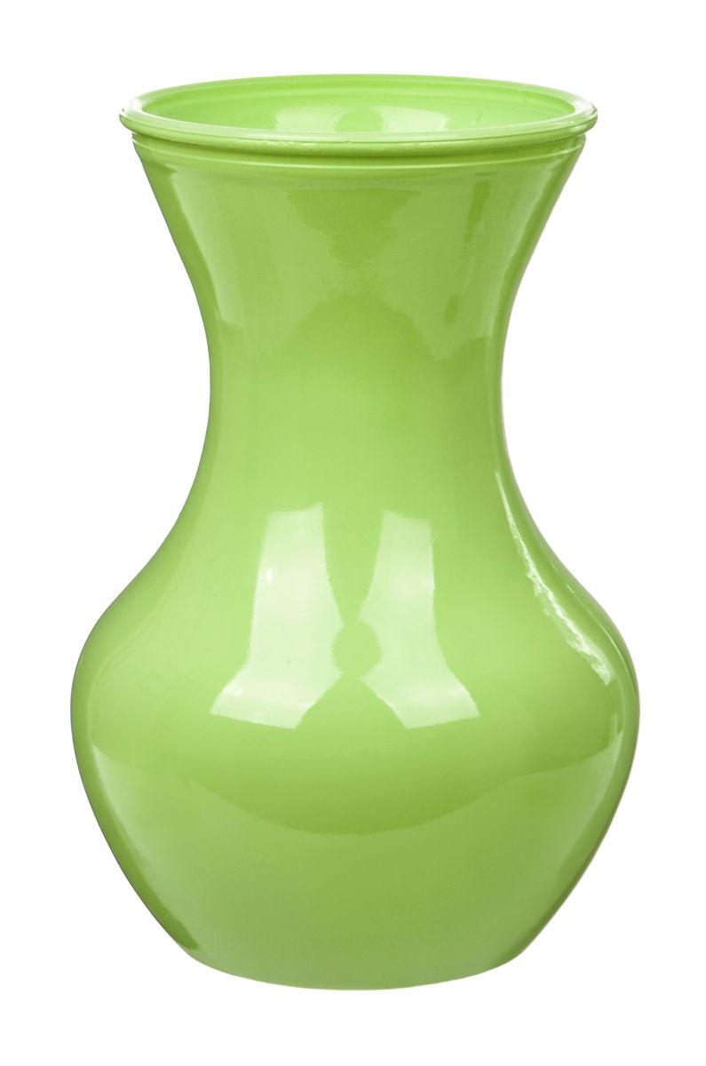 Ваза Nina Glass Ганна, цвет: зеленый, высота 18 смNG92-025_зеленыйВаза Nina Glass Ганна выполнена из высококачественного стекла и имеет изысканный внешний вид. Такая ваза станет ярким украшением интерьера и прекрасным подарком к любому случаю. Не рекомендуется мыть в посудомоечной машине. Высота вазы: 18 см.