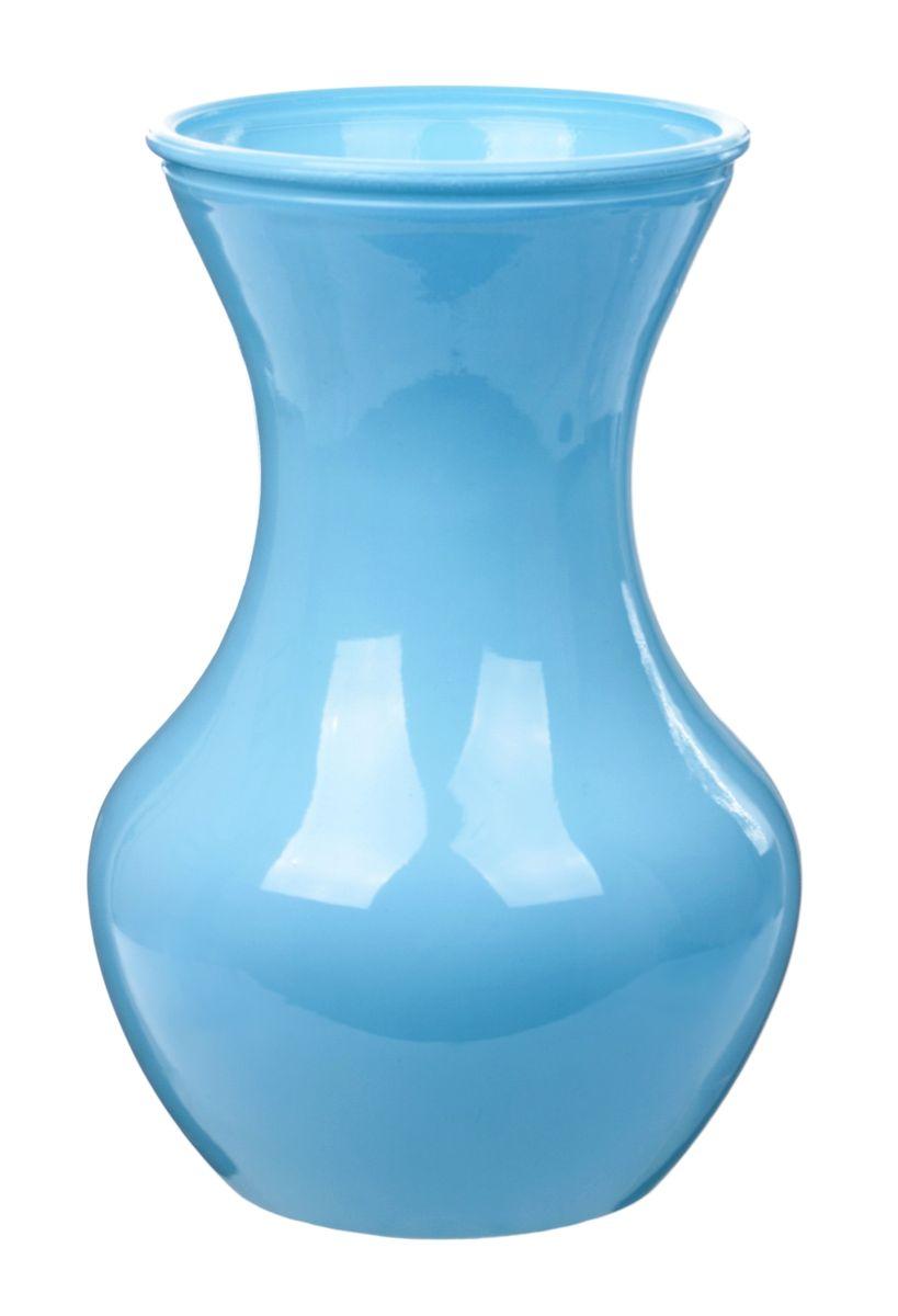 Ваза Nina Glass Ганна, цвет: голубой, высота 18 смNG92-025_голубойВаза Nina Glass Ганна выполнена из высококачественного стекла и имеет изысканный внешний вид. Такая ваза станет ярким украшением интерьера и прекрасным подарком к любому случаю. Не рекомендуется мыть в посудомоечной машине. Высота вазы: 18 см.