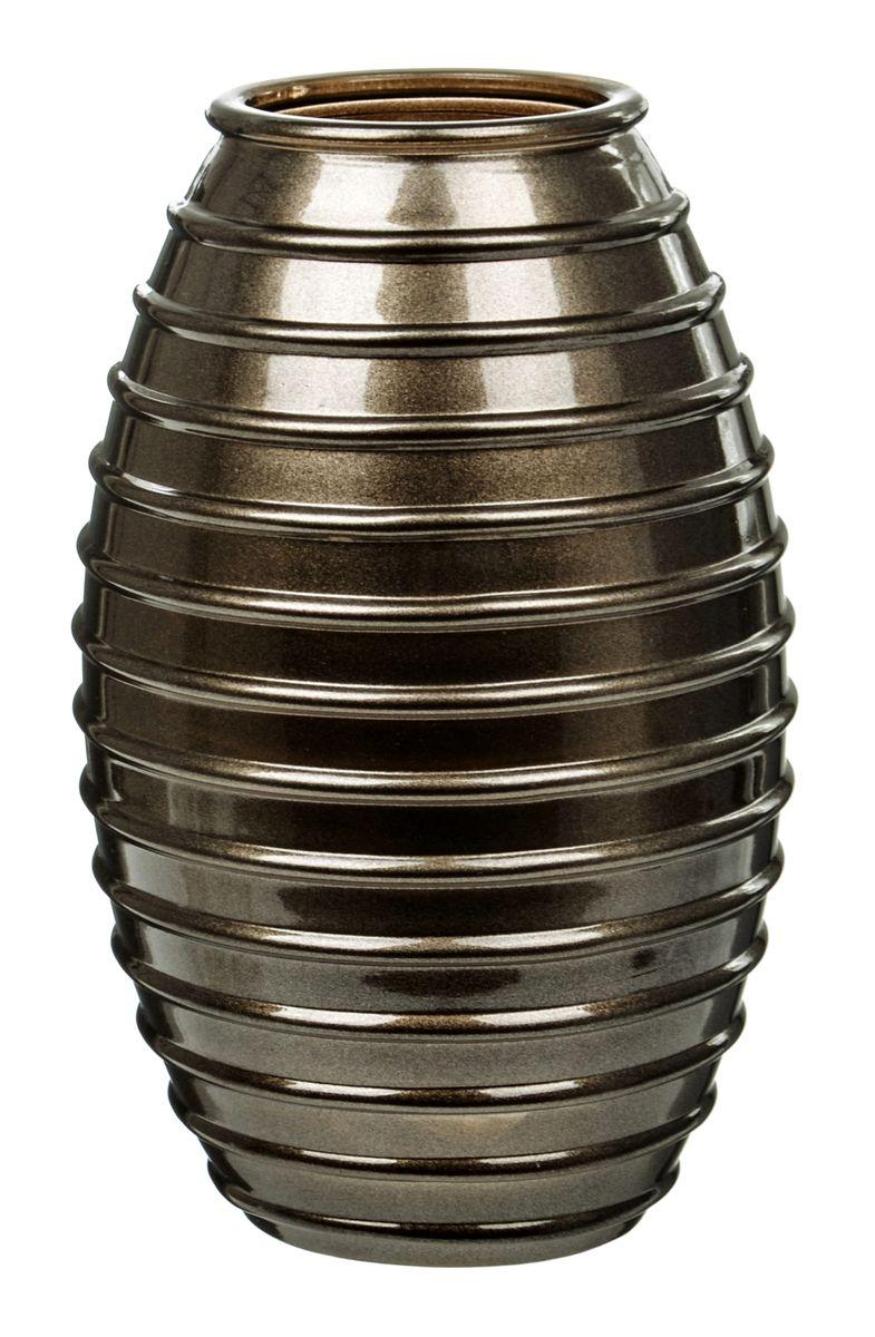 Ваза Nina Glass Лайт, цвет: шоколадный металлик, высота 19,5 смNG92-002_шоколадный металликВаза Nina Glass Лайт выполнена из высококачественного стекла и имеет изысканный внешний вид. Такая ваза станет ярким украшением интерьера и прекрасным подарком к любому случаю. Не рекомендуется мыть в посудомоечной машине. Высота вазы: 19,5 см.