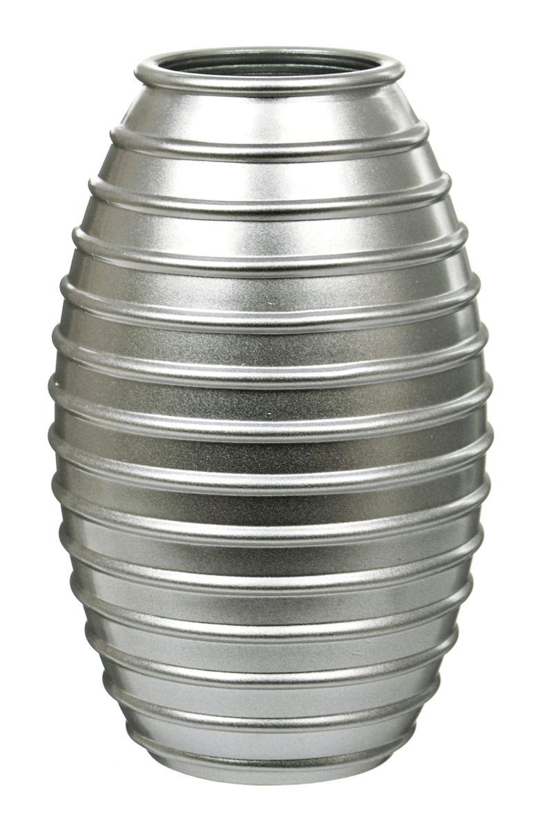 Ваза Nina Glass Лайт, цвет: серебряный металлик, высота 19,5 смNG92-002_серебряный металликВаза Nina Glass Лайт выполнена из высококачественного стекла и имеет изысканный внешний вид. Такая ваза станет ярким украшением интерьера и прекрасным подарком к любому случаю. Не рекомендуется мыть в посудомоечной машине. Высота вазы: 19,5 см.
