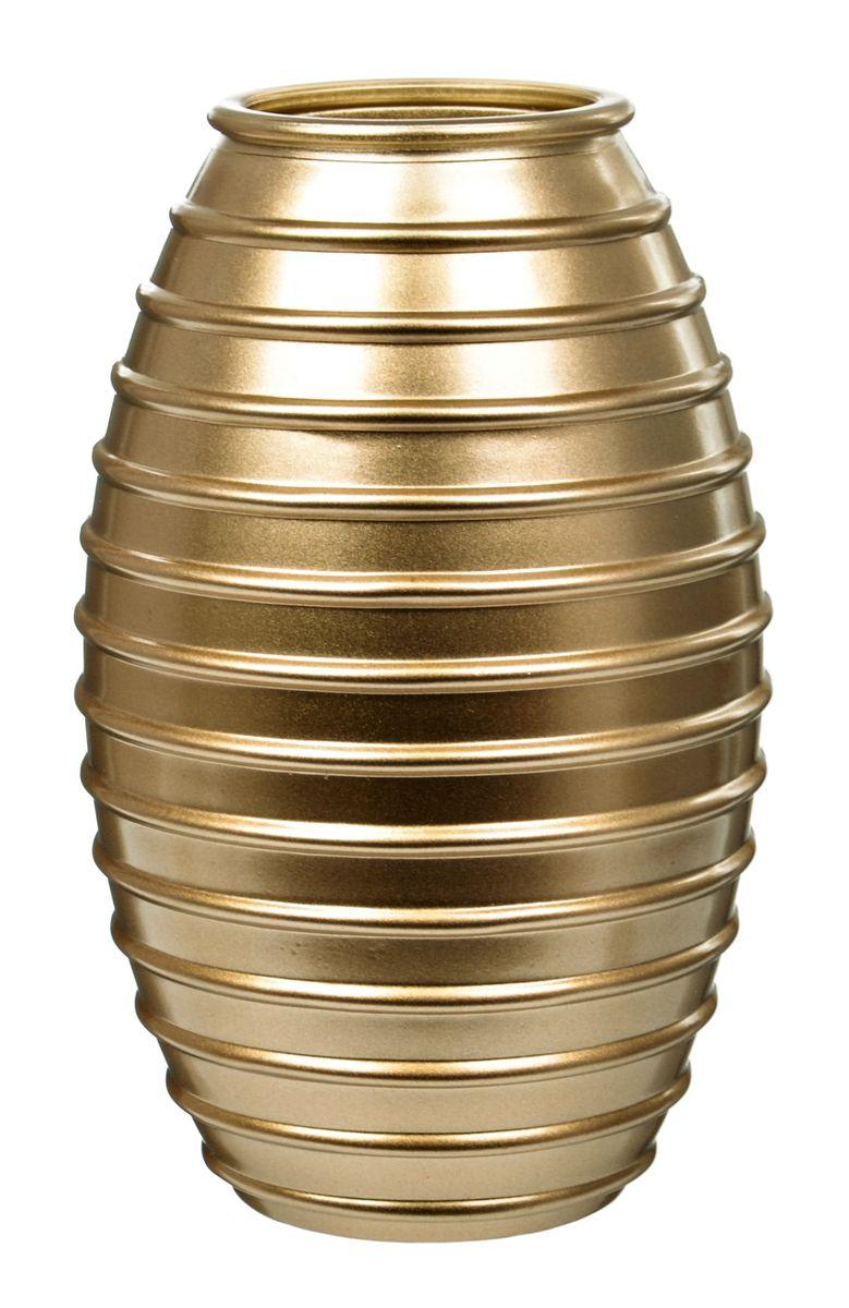 Ваза Nina Glass Лайт, цвет: золотой металлик, высота 19,5 смNG92-002_золотой металликВаза Nina Glass Лайт выполнена из высококачественного стекла и имеет изысканный внешний вид. Такая ваза станет ярким украшением интерьера и прекрасным подарком к любому случаю. Не рекомендуется мыть в посудомоечной машине. Высота вазы: 19,5 см.