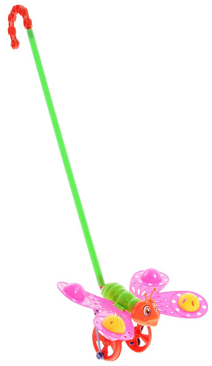 Ami&Co Игрушка-каталка Бабочка цвет розовый зеленый