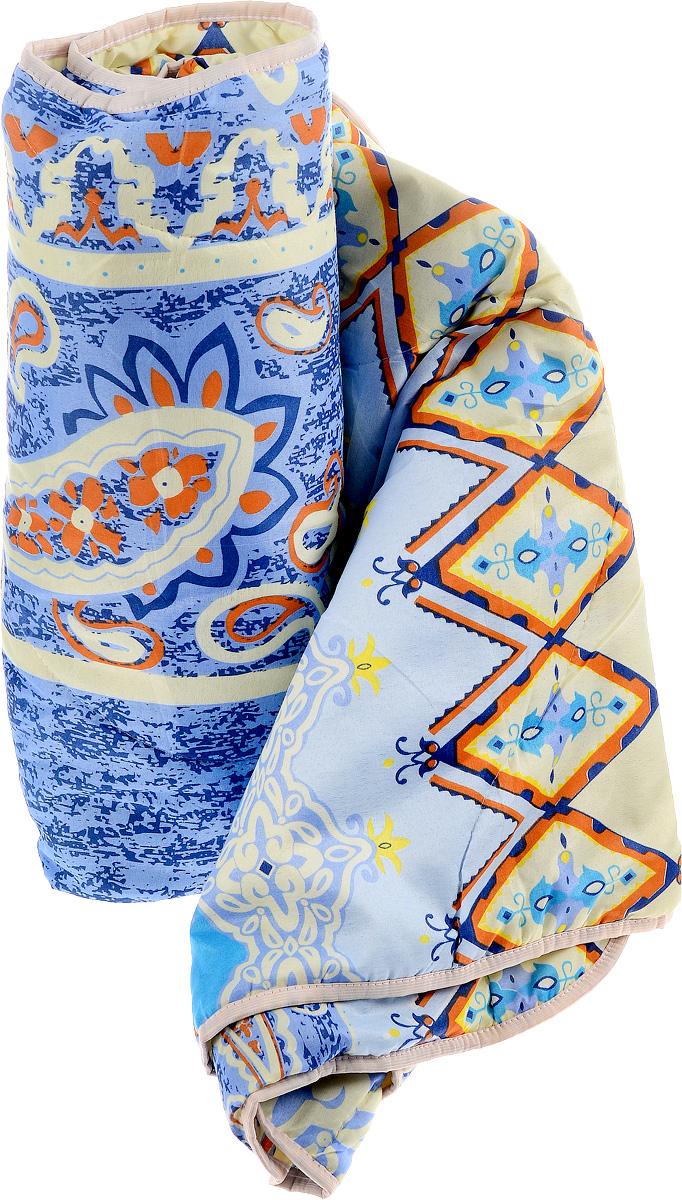 Одеяло летнее OL-Tex Miotex, наполнитель: полиэфирное волокно Holfiteks, цвет: голубой, светло-желтый, оранжевый, 172 х 205 смМХПЭ-18-1Легкое летнее одеяло OL-Tex Miotex создаст комфорт и уют во время сна. Чехол выполнен из полиэстера и оформлен красочным рисунком. Внутри - современный наполнитель из полиэфирного высокосиликонизированного волокна Holfiteks, упругий и качественный. Прекрасно держит тепло. Одеяло с наполнителем Holfiteks легкое и комфортное. Даже после многократных стирок не теряет свою форму, наполнитель не сбивается, так как одеяло простегано и окантовано. Не вызывает аллергии. Holfiteks - это возможность легко ухаживать за своими постельными принадлежностями. Можно стирать в машинке, изделия быстро и полностью высыхают - это обеспечивает гигиену спального места при невысокой цене на продукцию. Плотность: 100 г/м2. Уважаемые клиенты! Товар поставляется в цветовом ассортименте. Отгрузка производится из имеющихся в наличии цветов.