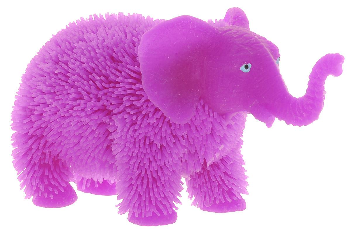 HGL Фигурка Слон с подсветкой цвет фиолетовыйSV11190Фигурка Слон - это мягкая резиновая игрушка в виде фиолетового слоника с резиновым ворсом. Взяв игрушку в руки, расстаться с ней просто невозможно! Её не только приятно держать в руках: если перекинуть игрушку из руки в руку, она начнёт мигать цветными огоньками. Данная игрушка рассчитана на широкую целевую аудиторию - как детей от пяти лет, так и взрослых. Слон обязательно станет самым любимым забавным сувениром. Игрушка работает от незаменяемых батареек.