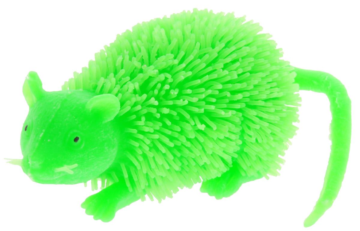 HGL Фигурка Мышь с подсветкой цвет зеленыйSV11195Фигурка HGL Мышь - это мягкая резиновая игрушка в виде мышки с резиновым ворсом. Взяв игрушку в руки, расстаться с ней просто невозможно! Её не только приятно держать в руках: если перекинуть игрушку из руки в руку, она начнёт мигать цветными огоньками. Данная игрушка рассчитана на широкую целевую аудиторию - как детей от пяти лет, так и взрослых. Мышь обязательно станет самым любимым забавным сувениром. Игрушка работает от 3 незаменяемых батареек AG3 (LR41).