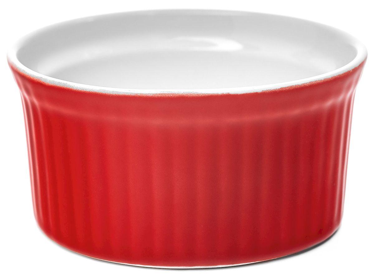 Горшок для запекания Walmer Classic, цвет: красный, диаметр 9 смW17202009Горшок для запекания Walmer Classic изготовлен из высококачественного фарфора, покрытого слоем глазури. Внешние стенки изделия декорированы рельефными вертикальными полосами. В таком горшочке удобно запекать рыбу, жаркое, жульен и другие блюда. Диаметр (по верхнему краю): 9 см. Высота стенки: 4,5 см.