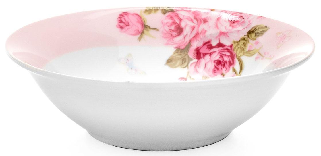 Салатник Walmer Mirabella, цвет: розовый, диаметр 11,5 смW19810011Салатник Walmer Mirabella выполнен из высококачественного фарфора. Салатник прочный и стойкий к царапинам. Благодаря высококачественным материалам он не впитывает запахи и не изменяет вкусовые качества пищи. Яркий салатник создаст веселое летнее настроение за вашим столом. Диаметр: 11,5 см. Высота: 4 см.