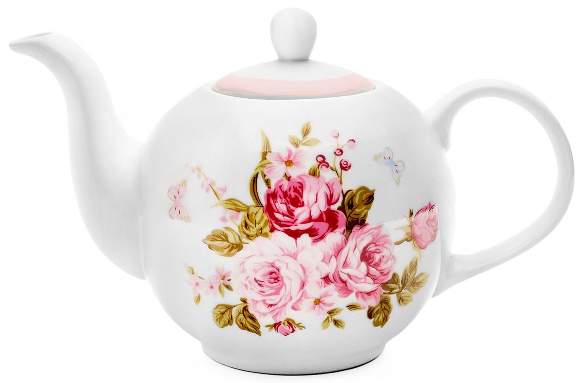 Чайник заварочный Walmer Mirabella, цвет: розовый, 1 лW19880100Заварочный чайник Walmer Mirabella изготовлен из высококачественного фарфора. Гладкая поверхность обеспечивает легкую очистку. Чайник поможет заварить крепкий ароматный чай и великолепно украсит стол к чаепитию. Размеры чайника: 24,5 х 15 х 15 см.