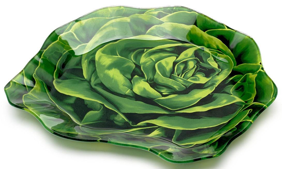 Блюдо сервировочное Walmer Lettuce, 16x18 см. W22051618W22051618