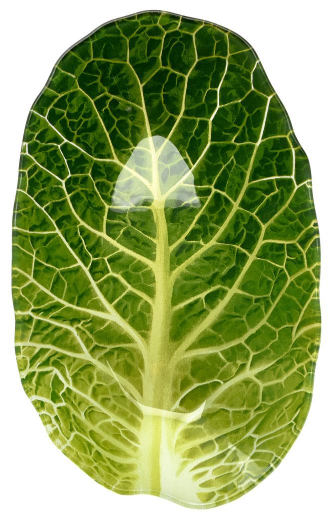 Салатник Walmer Leaf Lettuce, 16x26 см. W22071626W22071626