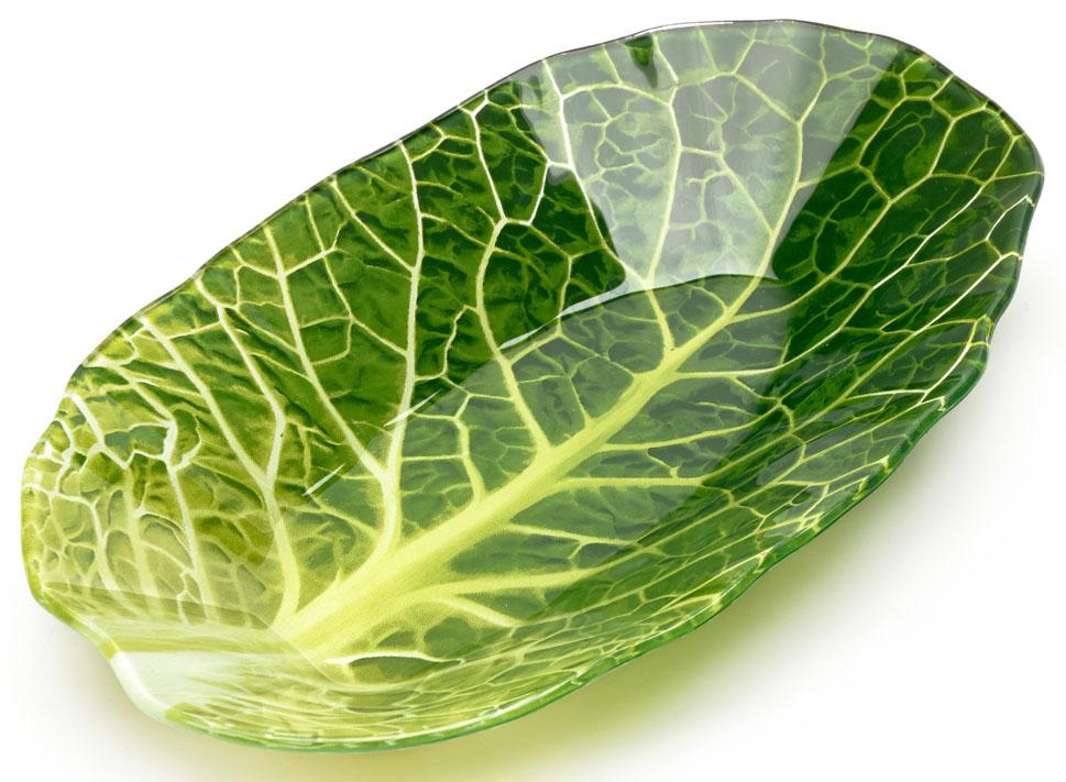 Салатник Walmer Leaf Lettuce, 18x27 см. W22071827W22071827