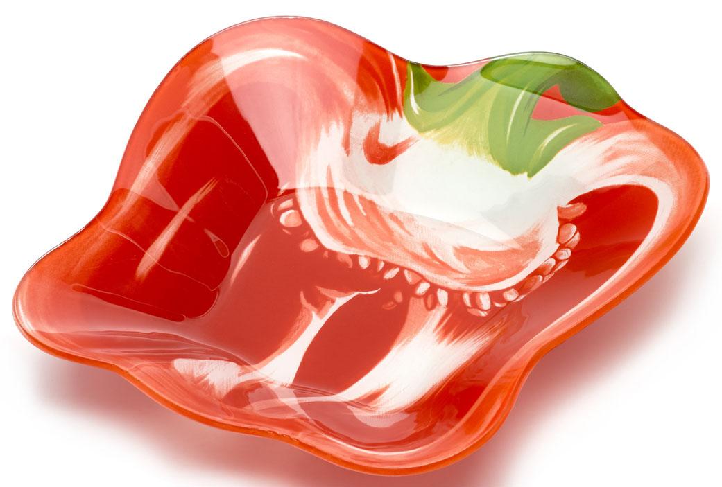 Салатник Walmer Red Pepper, 22x23 см. W22092223W22092223
