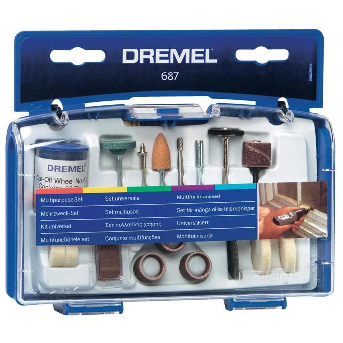 Набор оснастки Dremel 687 (26150687JA)