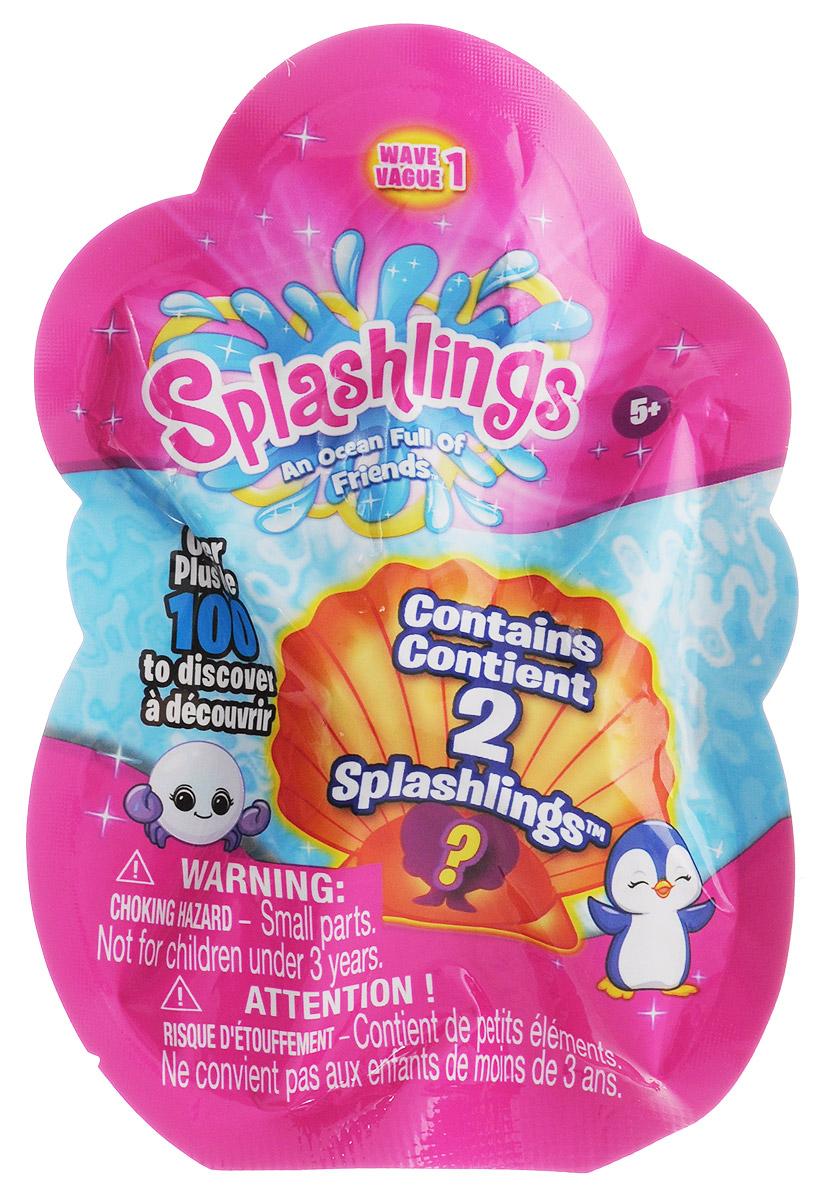 Splashlings Набор фигурок297542_серия1Splashlings - это коллекция замечательных фигурок - обитателей подводного мира. В серии встречаются разнообразные рыбки, дельфины, морские звезды, скаты, медузы и другие. Фигурки выполнены из высококачественных материалов, выглядят очень ярко и эффектно - увлекательная сюжетно-ролевая игра с ними гарантирована! В наборе вы найдете 2 фигурки, спрятанные в пакетике. Какие именно? Узнаете, когда откроете упаковку. Соберите целую коллекцию забавных морских обитателей!