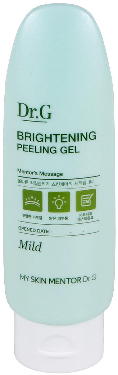 Dr. G Пилинг-гель отшелушивающий для яркости кожи Peeling, 120 млDG133055Отшелушивающий осветляющий гель предназначен для деликатного пилинга и относится к мягкому варианту очищения лица. Средство увлажняет, повышает тургор кожи. Пилинг-гель действует очень бережно и не раздражающе. Освежает тон, делая его ярким, осветленным и сияющим. Кожа разглаживается и омолаживается. Цвет лица становится более здоровым, внешний вид преображается. Входящие в состав продукта ферментированный экстракт бусенника, фито-олиго комплекс, экстракты листьев хурмы, мальвы и облепихи дают действенный результат. Экстракт бусенника отбеливает веснушки и насыщает луковицы. Фито-олиго комплекс наполняет кожу влагой и расслабляет до состояния безмятежности. Экстракт листьев хурмы препятствует старению клеток. Экстракт мальвы питает эпидермис витаминами A, C и Е. Облепиха возвращает лицу молодость и красоту, способствует повышению тонуса, убирает неглубокие морщины.