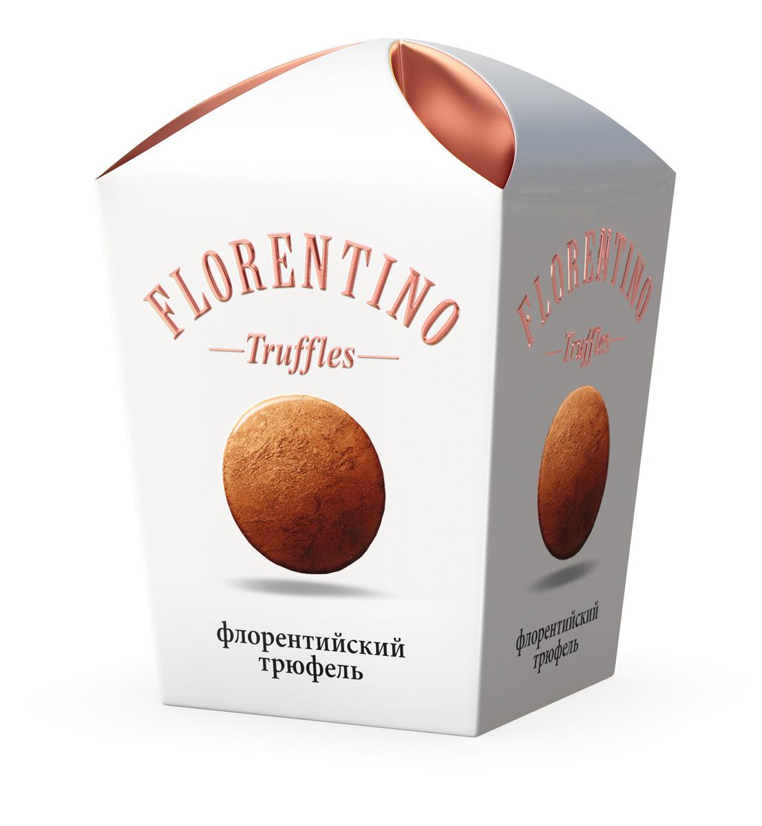 Florentino Флорентийский трюфель конфеты, 175 г16.3752Конфеты Трюфель от BUCHERON приготовлены по рецептуре, ставшей популярной в середине XX века. Благодаря швейцарским технологиям и отборным какао-бобам, собранным на Берегу Слоновой Кости, эти конфеты имеют яркий и утонченный вкус. Попробуйте ароматные, нежные, тающие на языке классические трюфели.