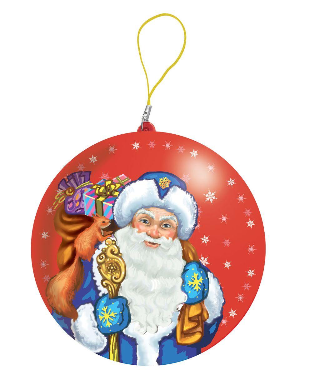 Сладкая Сказка Дед Мороз красный подарочный шар карамель + магнит, 18 гMK-52-8_красныйПодарочный жестяной шар с символом нового, 2017 года, по восточному календарю - Петухом! Шар, наполненный сюрпризами, станет настоящим подарком к Новому году. Внутри новогоднего шара - 18 г натуральной леденцовой карамели и один из восьми коллекционных магнитов с Петухом, нарисованным в анимационном стиле.