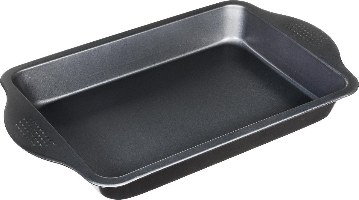 Форма для выпечки Travola, 42 х 25,5 смSL-24S008Форма Travola изготовлена из высококачественной углеродистой стали, что обеспечивает равномерное распределение тепла и прекрасно пропеченную выпечку. Готовую выпечку легко доставать из формы. Форма Travola идеально подходит для выпекания кексов, хлеба, рулетов и многого другого. Можно мыть в посудомоечной машине. Размер формы: 42 х 25,5 х 5 см.