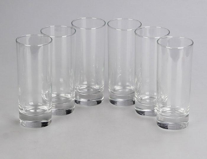 Набор стаканов Luminarc Исланд, 330 мл, 6 штJ0040Набор Luminarc Исланд состоит из 6 высоких стаканов, выполненных из высококачественного стекла. Изделия подходят для сока, воды, лимонада и других напитков. Такой набор станет прекрасным дополнением сервировки стола, подойдет для ежедневного использования и для торжественных случаев. Можно мыть в посудомоечной машине. Объем стакана: 330 мл. Высота стакана: 15,5 см. Диаметр стакана: 6 см.