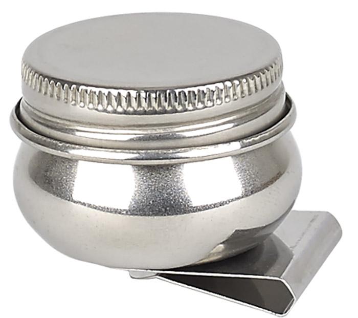 Малевичъ Масленка металлическая с крышкой