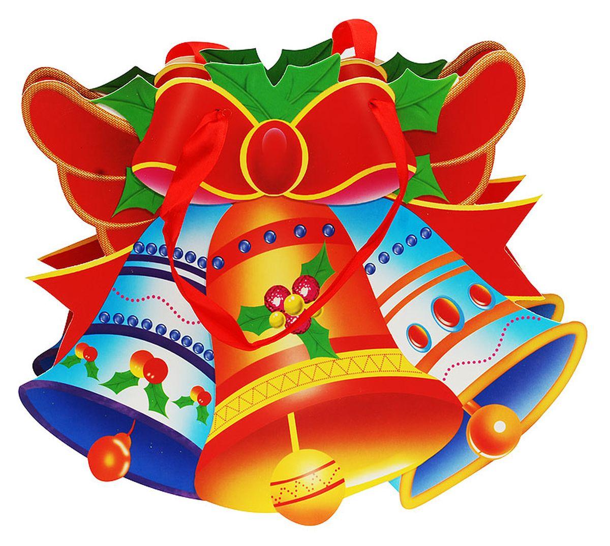 Пакет подарочный Белоснежка Волшебные колокольчики, 25 х 26 х 8 см1491-SBПодарочный пакет Волшебные колокольчики выполнен из качественной плотной бумаги с хорошей печатью, объемные элементы на пакете придают дополнительный яркий акцент.