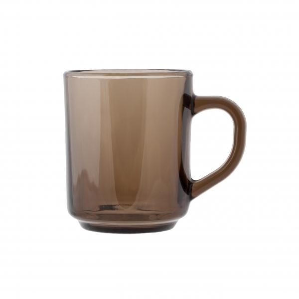 Кружка Luminarc Марли Эклипс, 250 млH9184Кружка Luminarc Марли Эклипс изготовлена из упрочненного стекла. Такая кружка прекрасно подойдет для горячих и холодных напитков. Она дополнит коллекцию вашей кухонной посуды и будет служить долгие годы. Можно использовать в посудомоечной машине и микроволновой печи. Объем кружки: 250 мл.