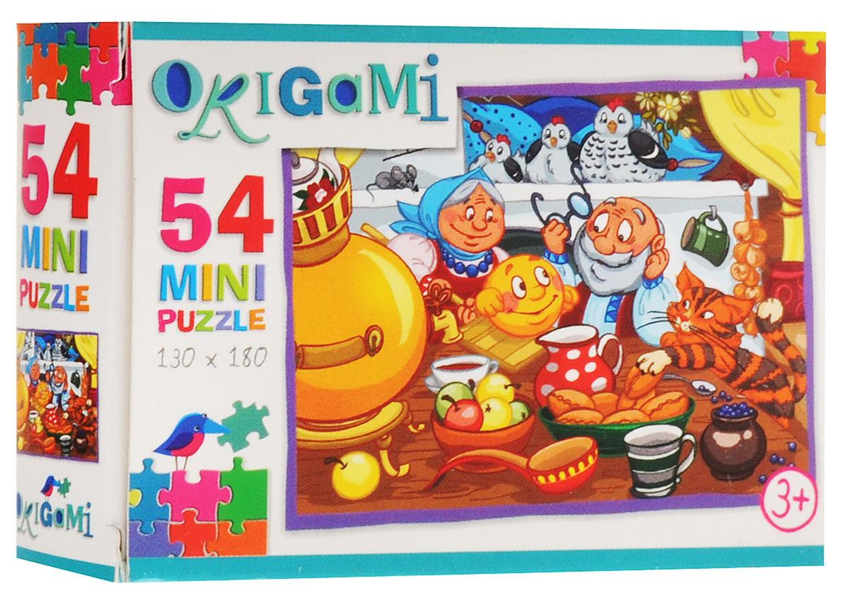 Оригами Пазл для малышей Колобок 6048_2