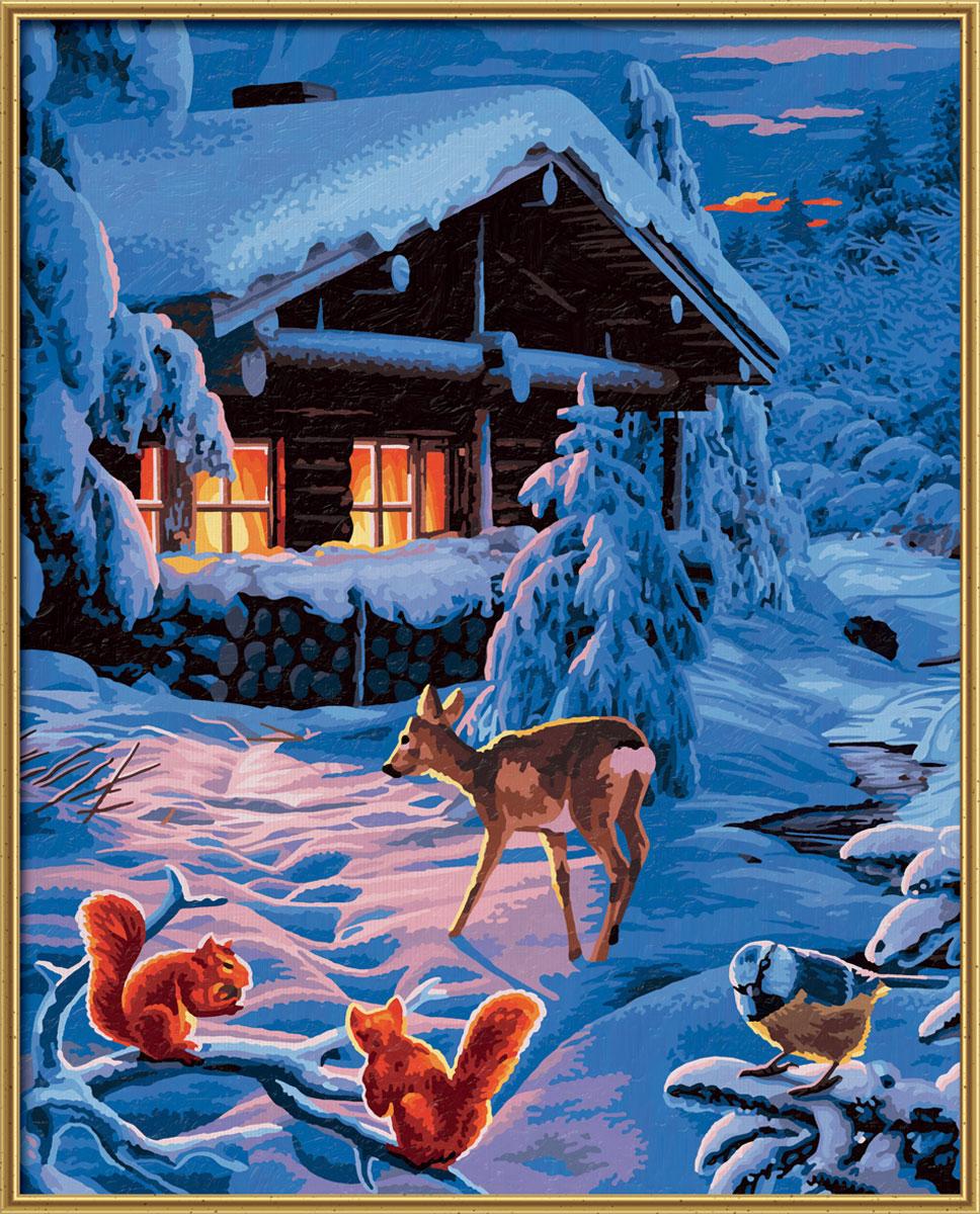 Schipper Картина по номерам Романтическая зимняя ночь