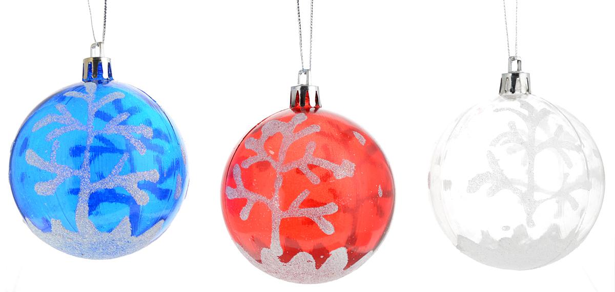 Украшение новогоднее подвесное Winter Wings Зимний лес, диаметр 7 см, 3 штN069964Новогоднее подвесное украшение Winter Wings Зимний лес прекрасно подойдет для праздничного декора новогодней ели. Изделия выполнены из высококачественного пластика. Для удобного размещения на елке на украшениях предусмотрены ушки и веревочки. Елочная игрушка - символ Нового года. Она несет в себе волшебство и красоту праздника. Создайте в своем доме атмосферу веселья и радости, украшая новогоднюю елку нарядными игрушками, которые будут из года в год накапливать теплоту воспоминаний. Откройте для себя удивительный мир сказок и грез. Почувствуйте волшебные минуты ожидания праздника, создайте новогоднее настроение вашим дорогим и близким.