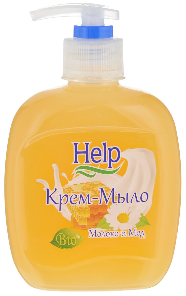 Жидкое мыло Help Молоко и мед, с дозатором, 300 г4605845001494Мыло Help Молоко и мед мягко очищает, увлажняет, придает мягкость коже рук. Специальные компоненты дополнительно питают кожу рук во время мытья. Мыло обладает гипоаллергенной парфюмерной композицией с ярким ароматом и пышной пеной. Товар сертифицирован.
