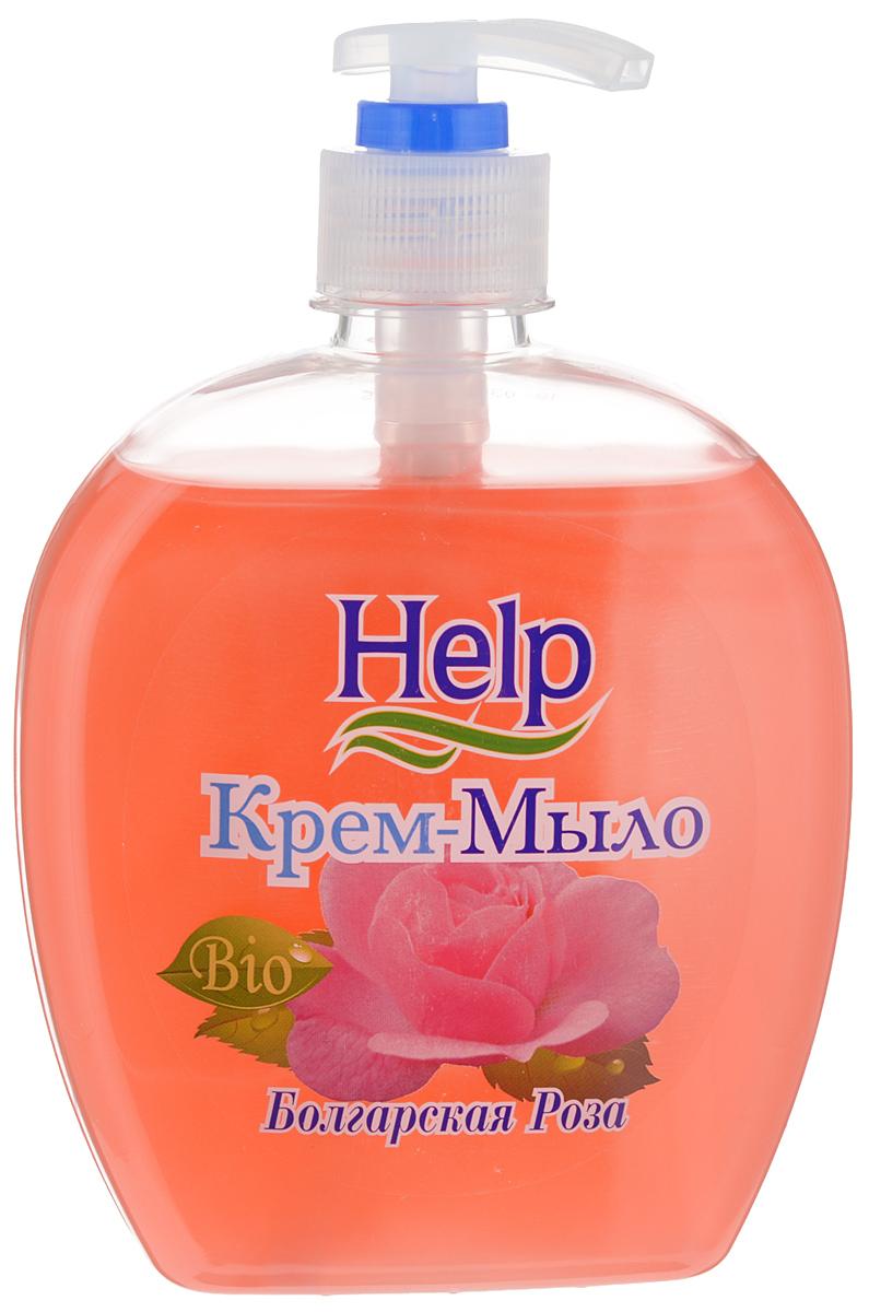 Жидкое мыло Help Болгарская роза, с дозатором, 500 г4605845001449Мыло Help Болгарская роза мягко очищает, увлажняет, придает мягкость коже рук. Специальные компоненты дополнительно питают кожу рук во время мытья. Мыло обладает гипоаллергенной парфюмерной композицией с ярким ароматом и пышной пеной. Товар сертифицирован.