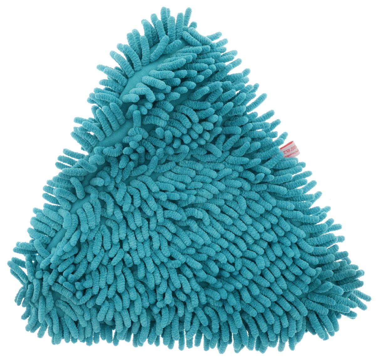 Насадка для швабры York Бермуда, сменная, цвет: бирюзовый8133_бирюзовыйСменная насадка из микрофибры York Бермуда используется для швабры на плоской подошве треугольной формы. Насадка имеет ворсистую поверхность для мгновенного удаления пыли с любого типа поверхностей. Насадка York обеспечивает высокое качество уборки без использования химии!