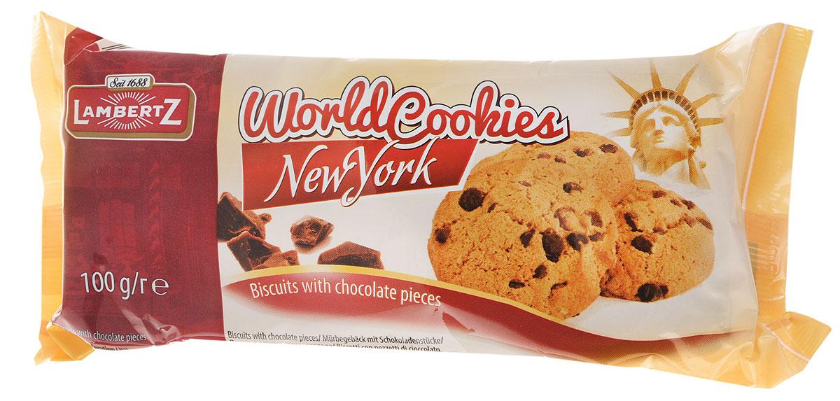 Lambertz World Cookies New York печенье с кусочками шоколада, 100 г71411.281Lambertz World Cookies New York - это традиционные и неповторимые вкусы печенья, характерные для разных стран. Объединяет их неизменное качество Lambertz. Отправьтесь в мини-путешествие по вкусам и культурам стран мира!