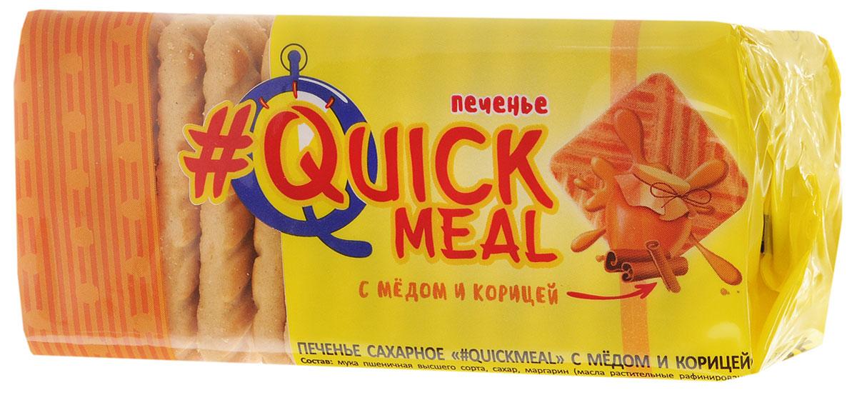 Слодыч #QuickMeal печенье сахарное с медом и корицей, 185 г 566