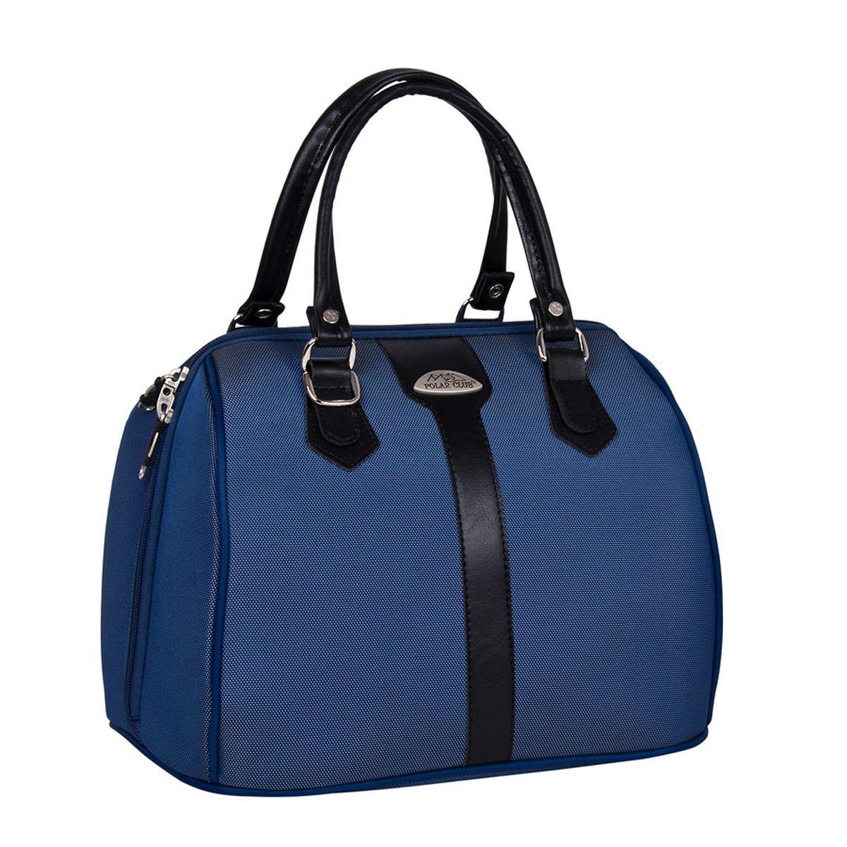 Бьюти-кейс Polar, цвет: синий, 19 л. 7028.57028.5_синийВместительный и удобный бьюти – кейс фирмы Polar. Выполнен из высокопрочного материала кордура. Основное отделение с множеством дополнительных отделений и карманов внутри. Также предусмотрен карман на молнии с внешней стороны для фиксирования бьюти – кейса на ручке чемодана. Ручки выполнены из высококачественного кожзаменителя.