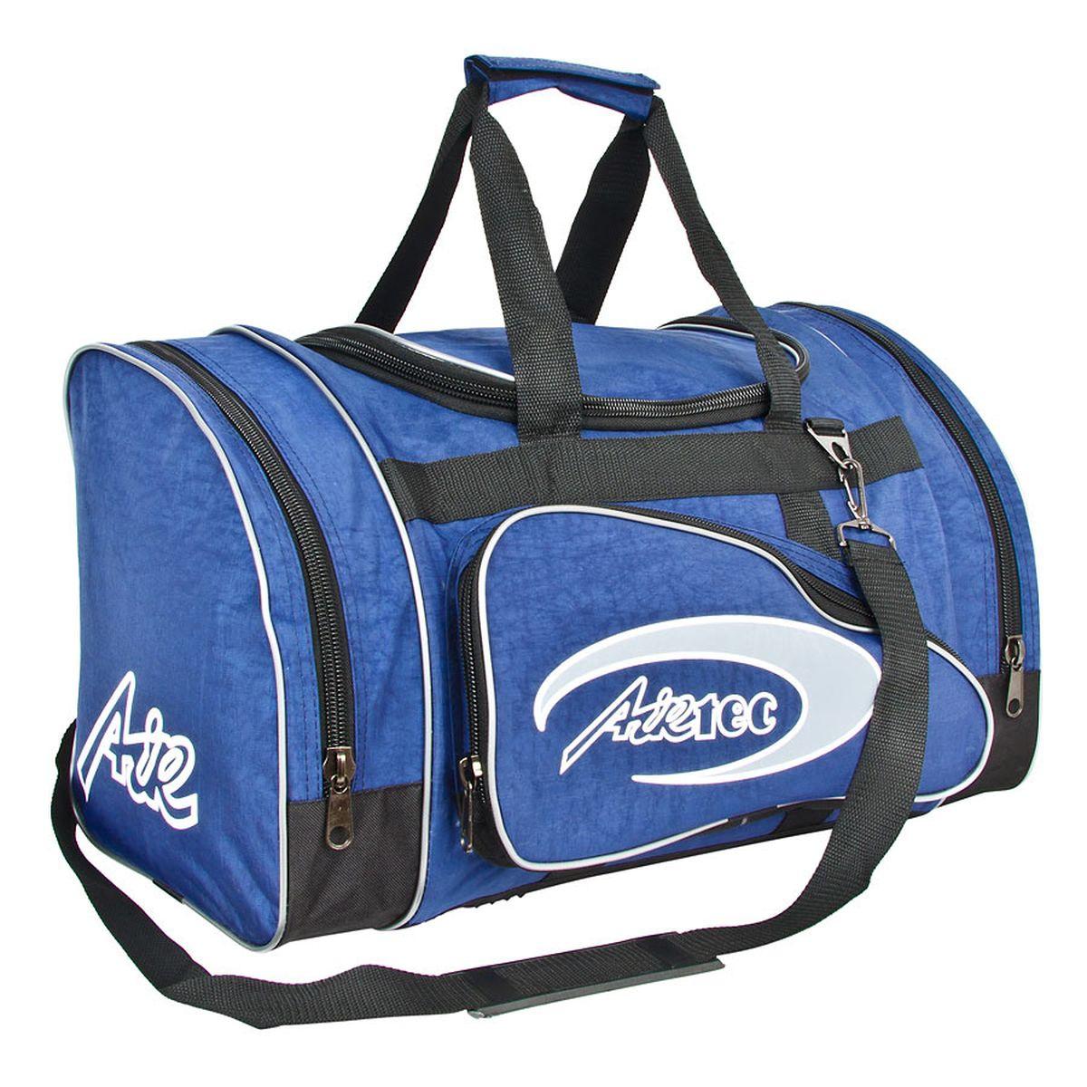 Сумка спортивная Polar, цвет: синий, 36 л. п03п03_синийМатериал – полиэстер с водоотталкивающей пропиткой. Вместительная спортивная сумка среднего размера. Одно отделение внутри. Карман на молнии. Два боковых кармана и два кармана на передней части. В комплект входит съемный плечевой ремень. Эта сумка идеально подойдет для спорта и отдыха. Спортивная сумка для ваших вещей.