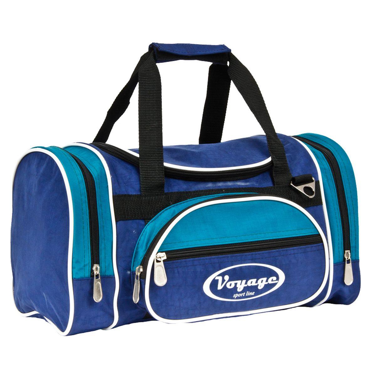 Сумка дорожная Polar, цвет: синий, голубой, 16 л. С Р209С Р209_синий, голубойДорожная сумка Polar выполненная в классическом дизайне. Все отделение на молнии. Два боковых и один центральный карман на молнии. В комплекте имеется плечевой ремень. Сумка изготовлена из водоотталкивающей ткани, сохраняющей свои свойства при любой температуре.